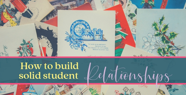 Take advantage of the holiday season to build stronger relationships with your students. This Christmas card writing idea will help you increase rapport and forge a positive classroom environment.