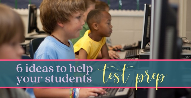 Ideas to help prepare your students for testing. Test prep can be more than the lessons you share. Consider these classroom ideas that can help give students more confidence the day of testing.